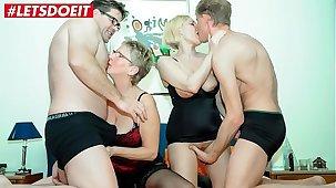 LETSDOEIT - German Matures Quota Their Hubbies Cocks