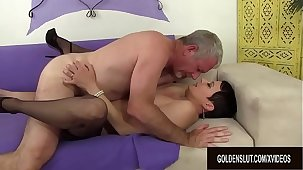 Mature Kali Karinena rides stiff dick