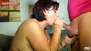 LETSDOEIT - Mature German Become man Fucked Hardcore by Will not hear of Lover