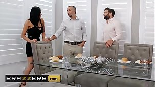 Unmitigated Wife Stories - (Audrey Bitoni, Keiran Lee) - Unfinished Business - Brazzers