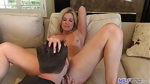 MILFTRIP Step Mom Welcomes Step Son Home Relative to Wet Indiscretion