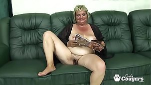 Fleshiness Old Granny Drains A Young Mans Balls