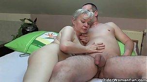 Grandma in heat needs anent put someone down