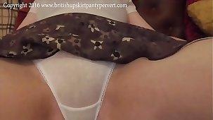 The British Upskirt Panty Pervert gets Salyanne nearby lift the brush skirt