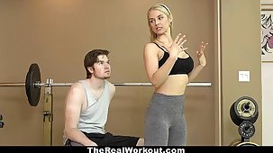 TheRealWorkout - Hot Milf Fucks Appropriateness Client