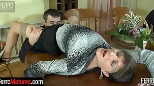 Good-looking milf invites her hung neighbor for a drink added to a hardcore fuck