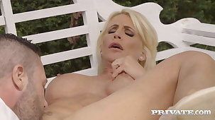 Private.com - Big Titty Milf Tiffany Rousso Pounded Outside!