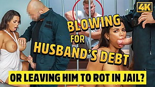 LAW4k. Couple cant pay debts ergo why beauty gets banged hard