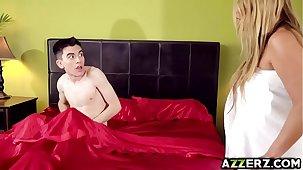 The man milf Kianna Dior fucked Jordis colossal cock
