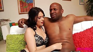 Ava Delush fucked in the ass overwrought big black flannel