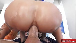 Emo MILF with big boobs Anna Fear Peaks loves anal sex