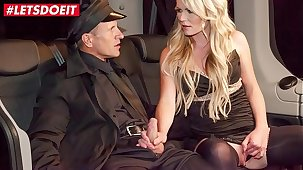 VIP SEX VAULT- Hot MILF Claudia Macc Basic By Czech Taxi Driver