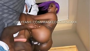 Mrs.Masked creams all let go bbc with cum all let go her face! One junkie in the matter of her face and Creampie in her pussy double cum shots! Instagram @mrs.masked twitter @mrsmasked subscribe in the matter of my onlyfans for $7.50 in the matter of see full sextapes!!