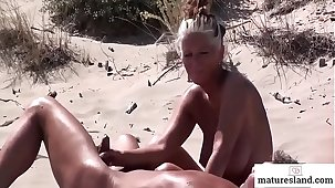 Horny Mature Nudists - Watch more on maturesland.com